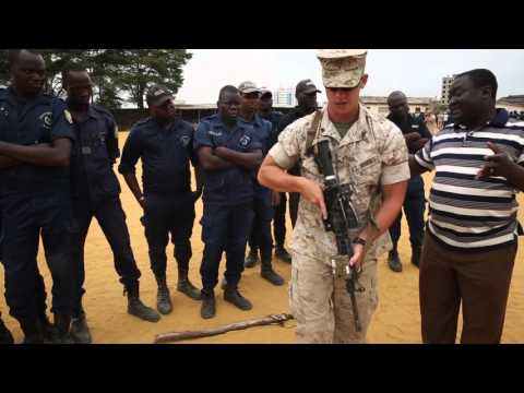 U S  Marines work with Benin to Protect its Borders