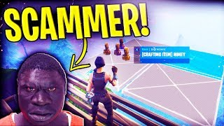 TWINE CHEEKS With 1000 Honey SCAMS Himself! (Scammer Gets SCAMMED) - Fortnite Save The World