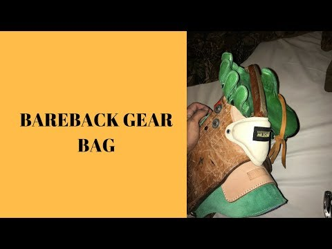 Bareback Riding Gear Bag 2018/20019