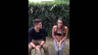 Le Ice bucket challenge de capucine Anav et Rayane bensetti