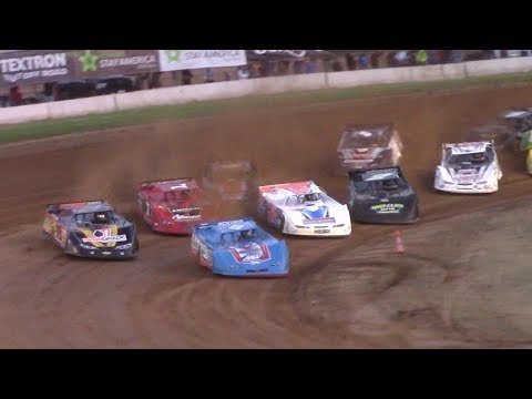 World of Outlaws Late Model Heat One | McKean County Raceway | 6-20-17