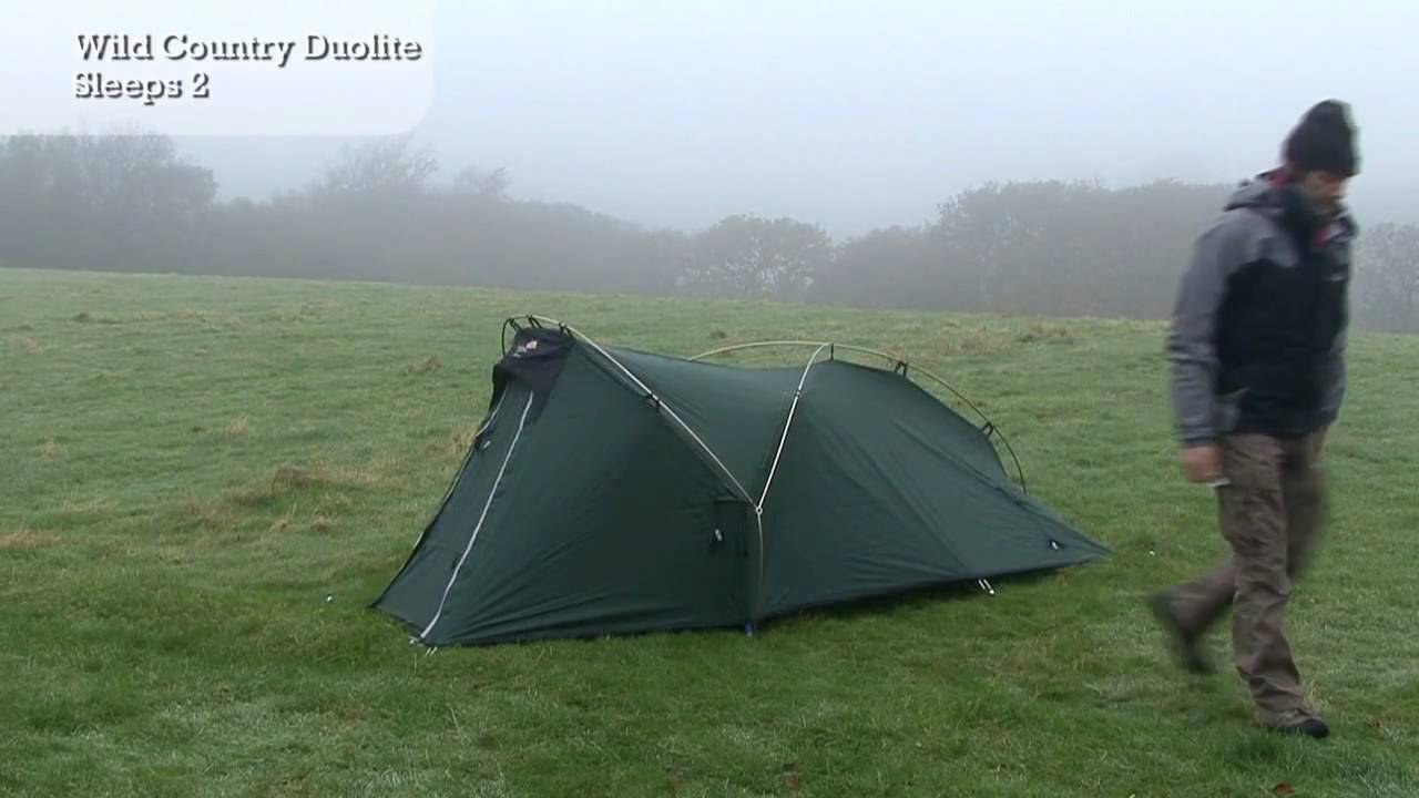 & Wild Country Duolite - Tent Pitching Video - YouTube