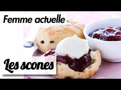 La recette des scones - Rose Bakery - Recettes de Chefs