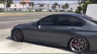 328i with Eisenmann Race Exhaust non resonated + midpipe with ER DP, CP and FMIC
