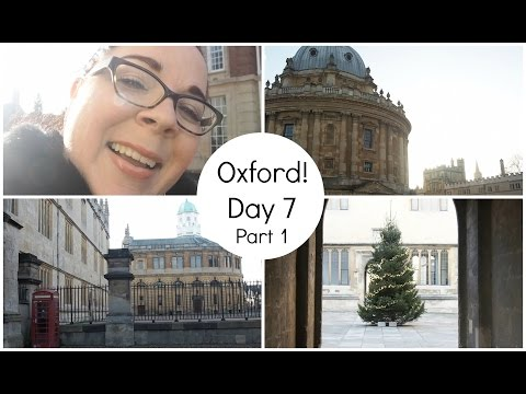 Going to Oxford! - London Trip Day 7 Part 1