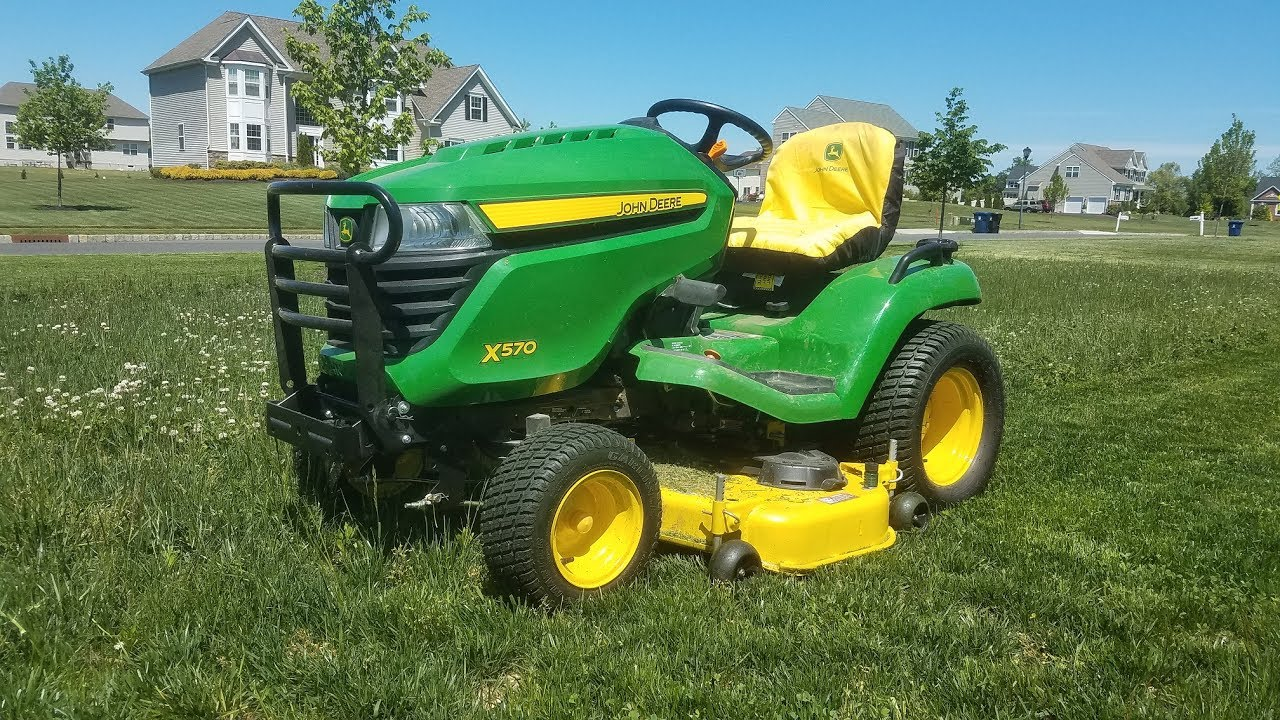 2016 John Deere X570 100 Hour Update Some Pro S And Con