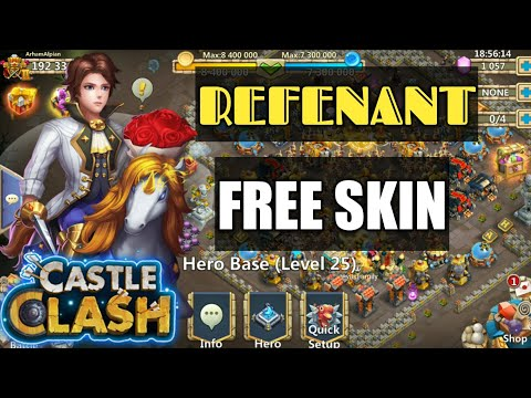 Castle Clash | Winter Fest | How To Get Revenant's Skill For Free