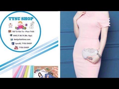 439-thiết Kế Áo Lệch Vai|dạy cắt may online miễn phí | sewing online class free | tysushop