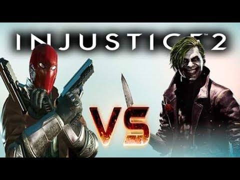 Injustice 2: The Joker vs Red Hood Online Set