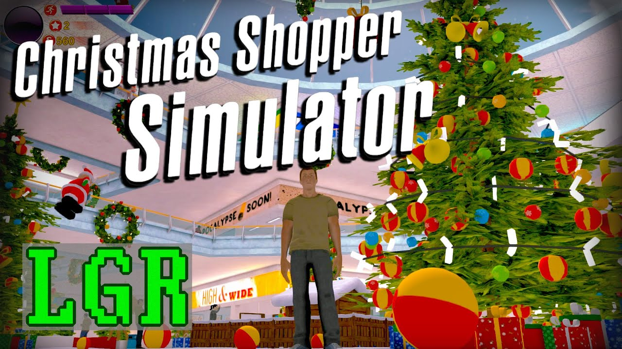 LGR - The Truth Behind Christmas Shopper Simulator - YouTube