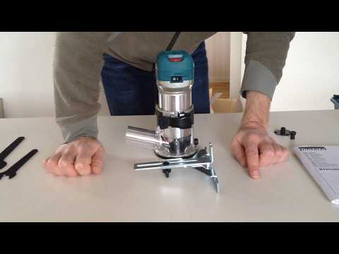 Episode 23 (14 Nov 2017) Makita RT0700C Router Guide Quirks