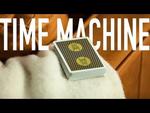 My FAVORITE card trick!  Time Machine Tutorial