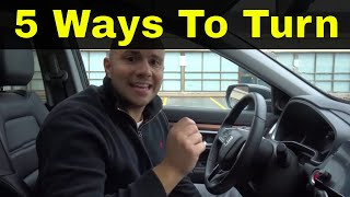 5 Ways To Make Right And Left Turns-Driving Lesson
