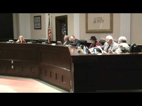 Anderson County Council - February 2, 2016 - Part 1