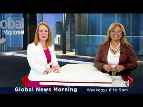 Jessica Laventure says good-bye to Montreal's Global News Morning