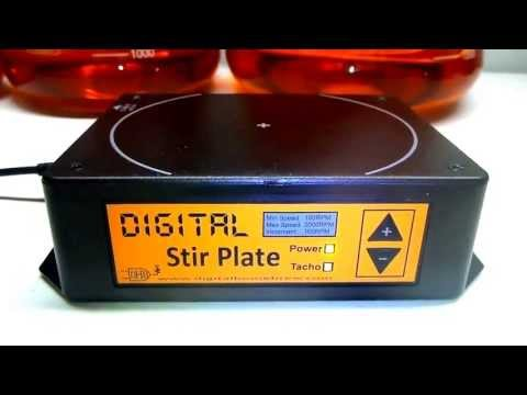 New Digital Stir Plates with extra features.