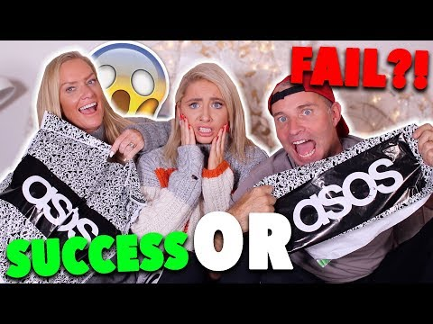 Mum vs Dad shop MY ASOS ORDER?!! SUCCESS OR FAIL?!?!