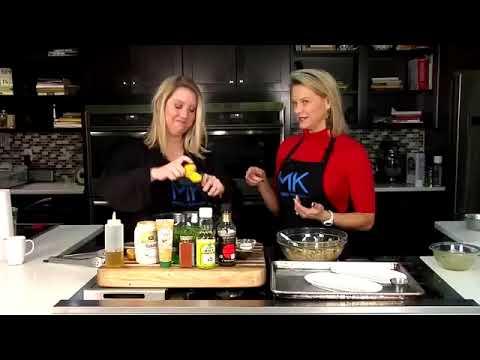 Make a tasty Asian Chicken Salad with Chef Allison Davis and Dietician Amanda Nighbert