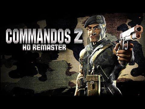 Commandos 2 - HD Remaster ★ GamePlay ★ Ultra Settings |