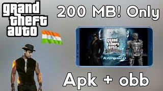 [200 MB] How to Download Gta india for android