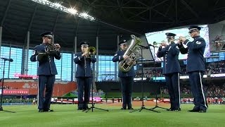 ATL MIA U S Air Force Band performs national