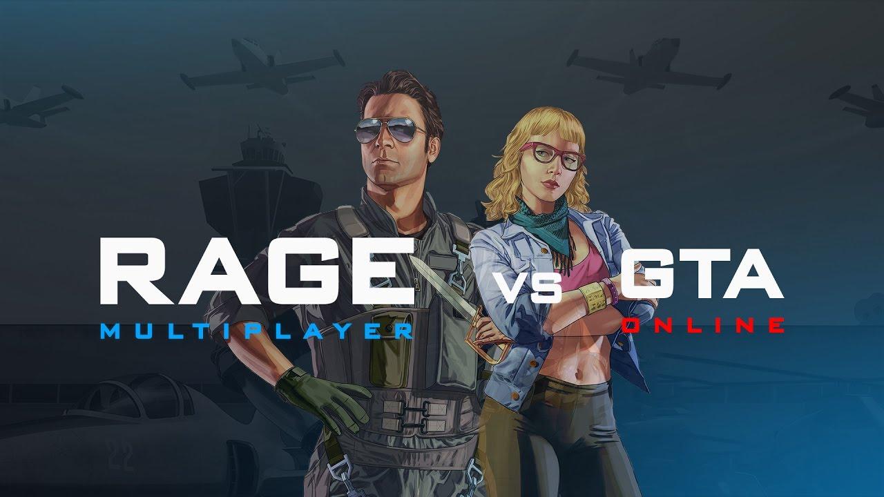 RAGE:MP 0 1 vs GTA Online: vehicle sync comparison