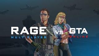 RAGE:MP vs GTA Online: vehicle sync comparison