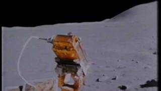 Driving On The Moon - UNIQUE footage - color HQ