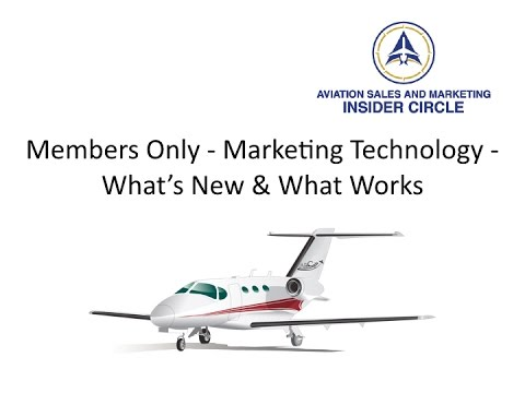 Members Only Webinar Marketing Technology