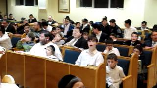 Grand Finale Father Son Learning at Yeshivah of South Shore