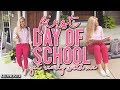 """""""PREPPY"""" FIRST DAY OF SCHOOL GET READY WITH ME 2017 ( MAKEUP, HAIR & OUTFIT)    Kellyprepster"""