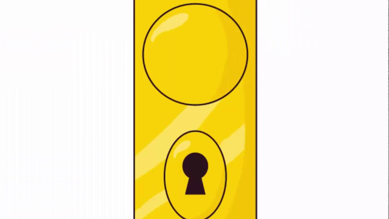 Door knob - Adobe Illustrator cs6 tutorial. How to create simple ...