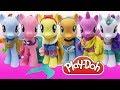 Play Doh Dress Disney Princess MLP My Little Pony Rainbow Dash Twilight Sparkle Pinkie Pie Applejack