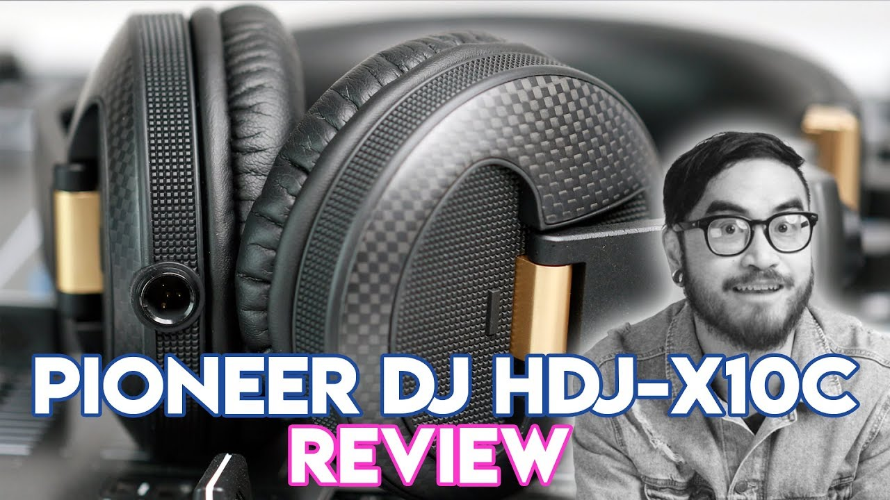 60a9a92386a Pioneer DJ HDJ-X10C Headphones - Unboxing & Review - The best gets even  better?