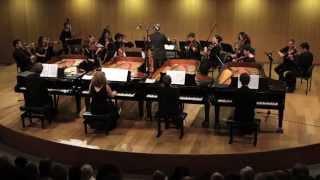 Bach Concerto for 4 Pianos. Multipiano/Tel-Aviv Soloists/Barak Tal