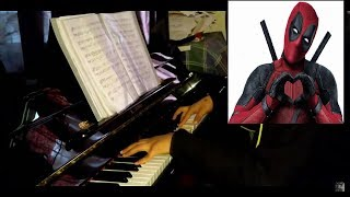 Take on me | Deadpool 2 |piano cover+sheets|MTV UNPLUGGED|A-ha