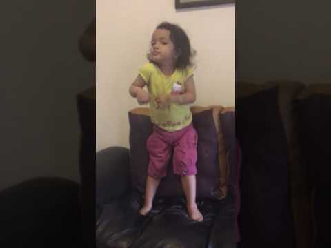 Despacito dance part 1 by 3 years old baby