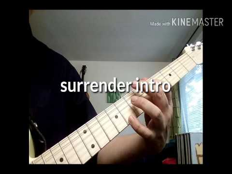 Surrender Billy Talent guitar intro Tab