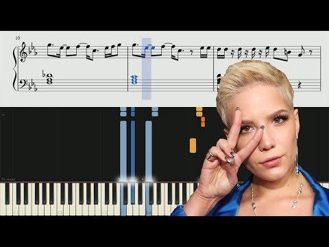 Halsey - Walls Could Talk - Piano Tutorial + SHEETS