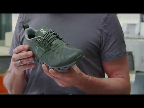 on cloud shoes waterproof