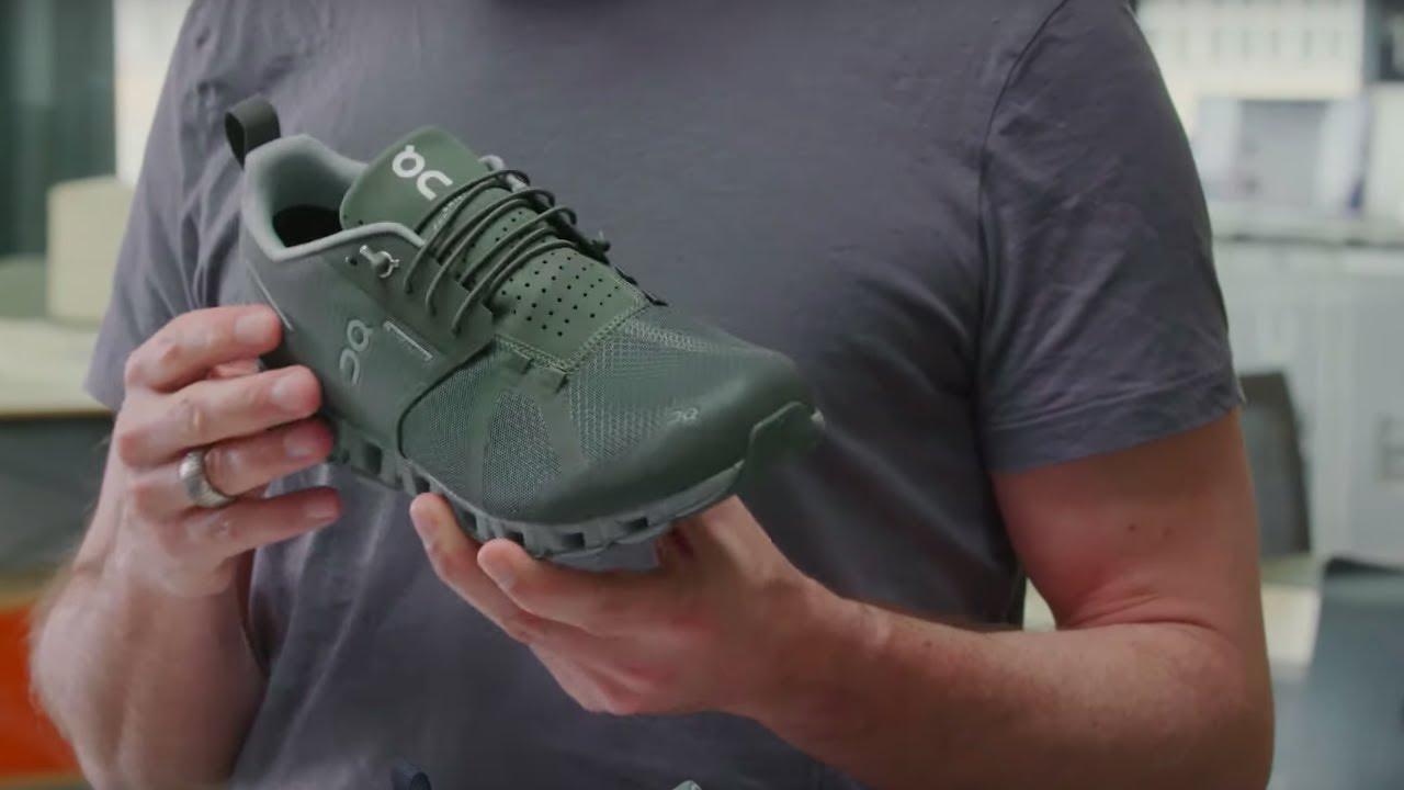 on cloud running shoes waterproof