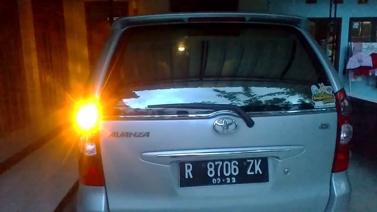 Lampu Sign Avanza Ala Bus Malam