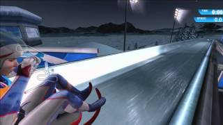 """Winter Sports 2009 """"Game Review"""" Xbox 360"""