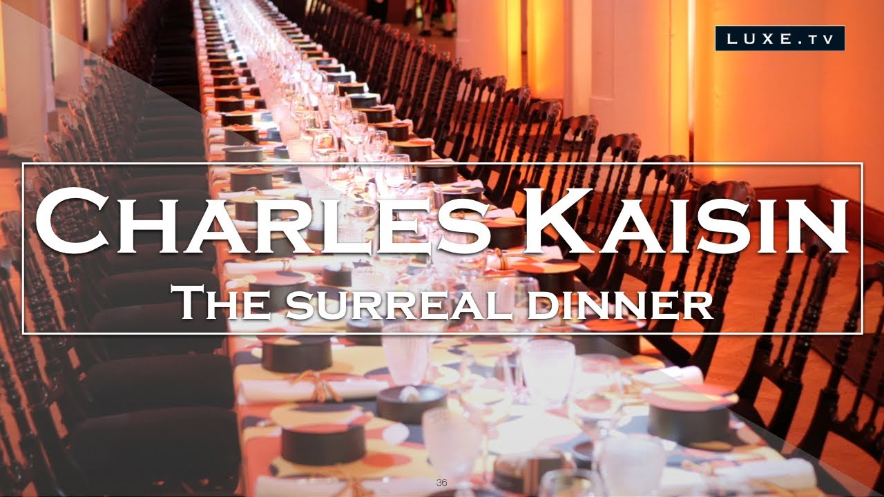 Download Proud to be belgian - The surreal dinner of Charles Kaisin - LUXE.TV