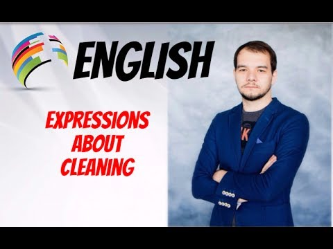 Как по английски уборка