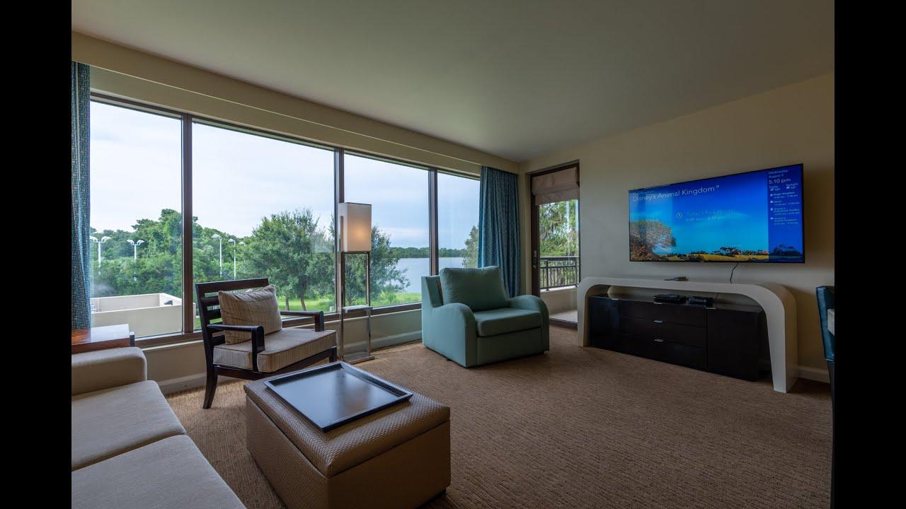 Bay Lake Tower 1 Bedroom Standard View Villa Room 7212 DVC ...