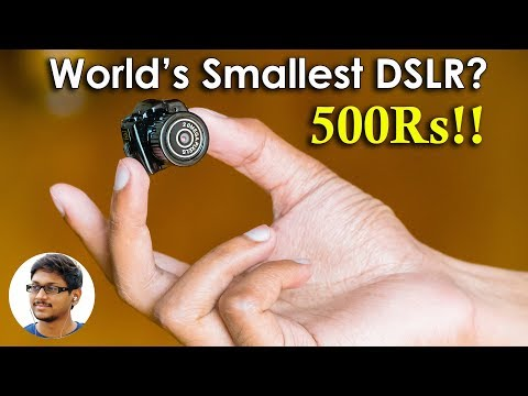 Thumbnail: World's Smallest and Cheapest Digital Camera? Only 500Rs!!