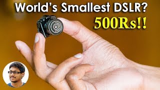 World's Smallest and Cheapest Digital Camera? Only 500Rs!!