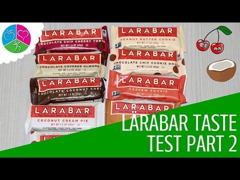 LÄRABAR Taste Test Part 2 (Dessert Flavors)