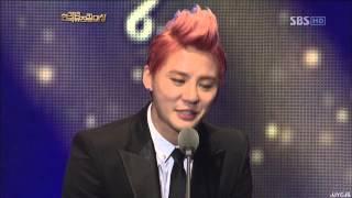 121030 JYJ 준수 JunSu 한국뮤지컬대상 남우 주연상 KMA Best Actor 시아 XIA